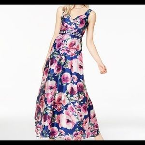 **NEW Trixxi Embellished Floral Gown